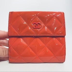 CHANEL 2in1 wallet with coin pocket